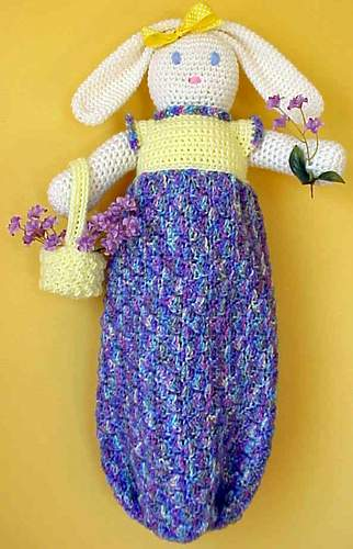The Crochet Dude - free patterns: Grocery Bag Dispenser